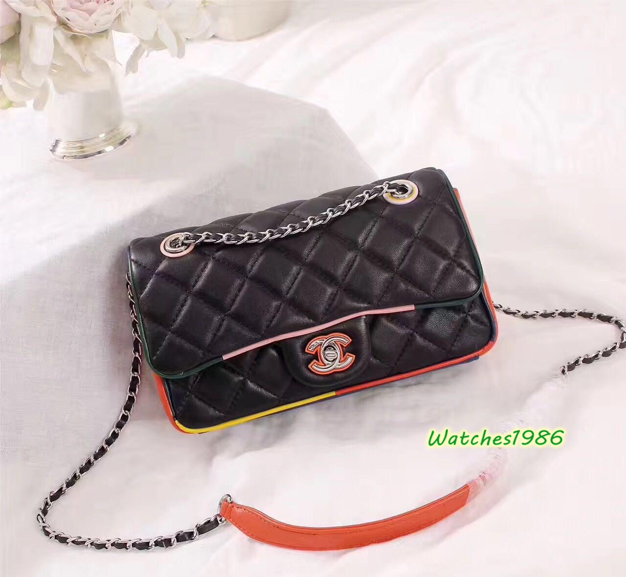 e8045368637a 2017 latest Chanel purse replica handbag online for sale - AAA ...