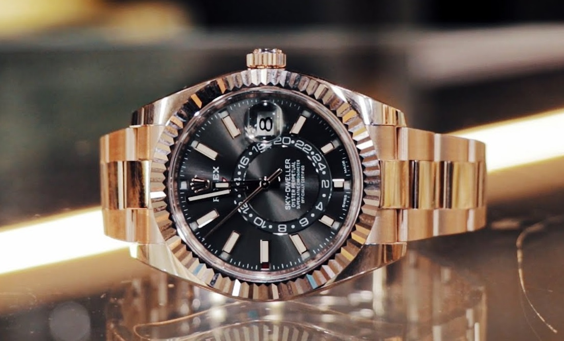 Rolex fake Sky-Dweller 326935 watch