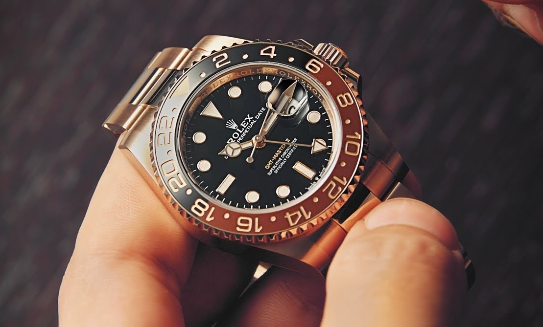 fake Rolex GMT-Master II 126715CHNR watch