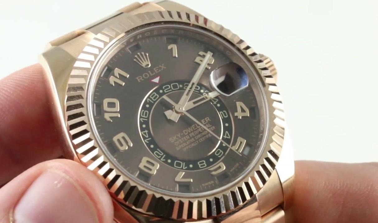 fake Rolex Sky-Dweller 326935
