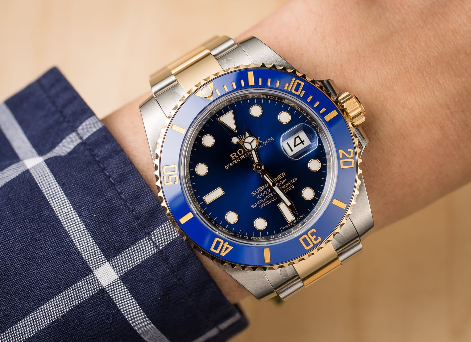 Rolex Submariner 116613LB fake