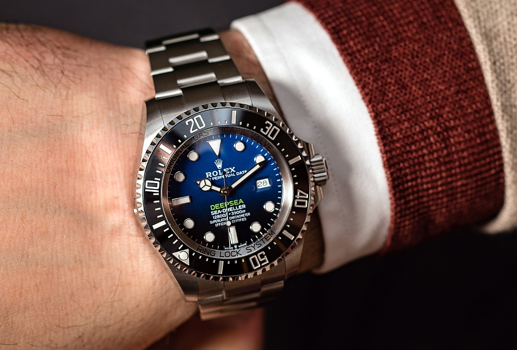 Big And Heavy Rolex Replica Deepsea 126660
