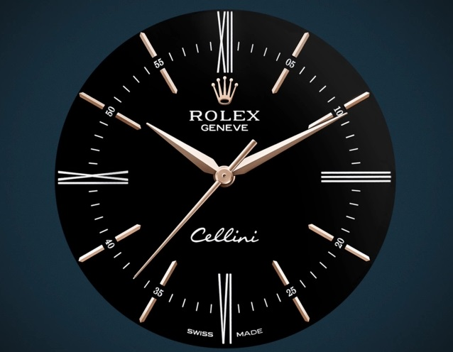 Rolex Dress Watch Replica Cellini Time 50505