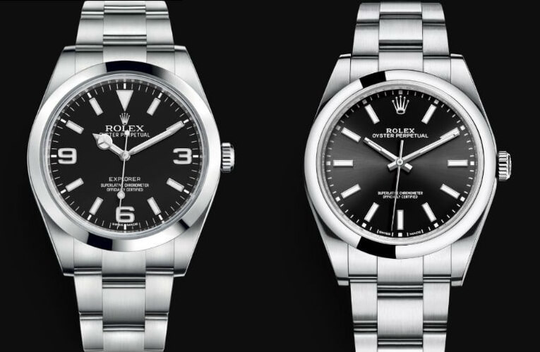 Rolex Explorer Fake and Oyster Perpetual 39