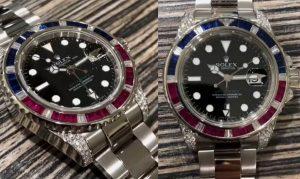 replica Rolex GMT-Master II 116759SARU