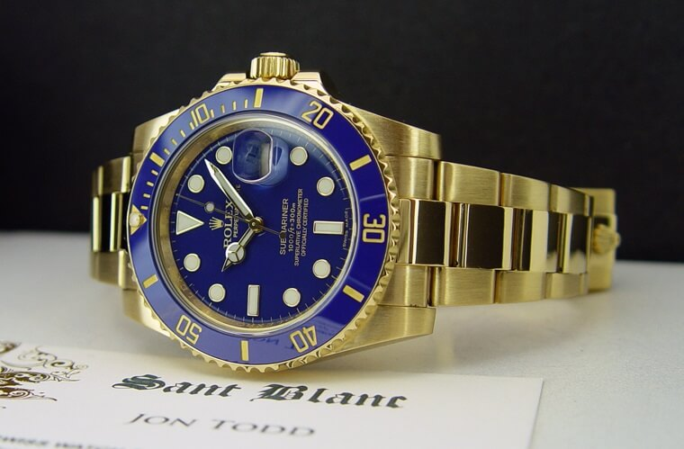 The Gold Fake Rolex Submariner 116618 Watches Review
