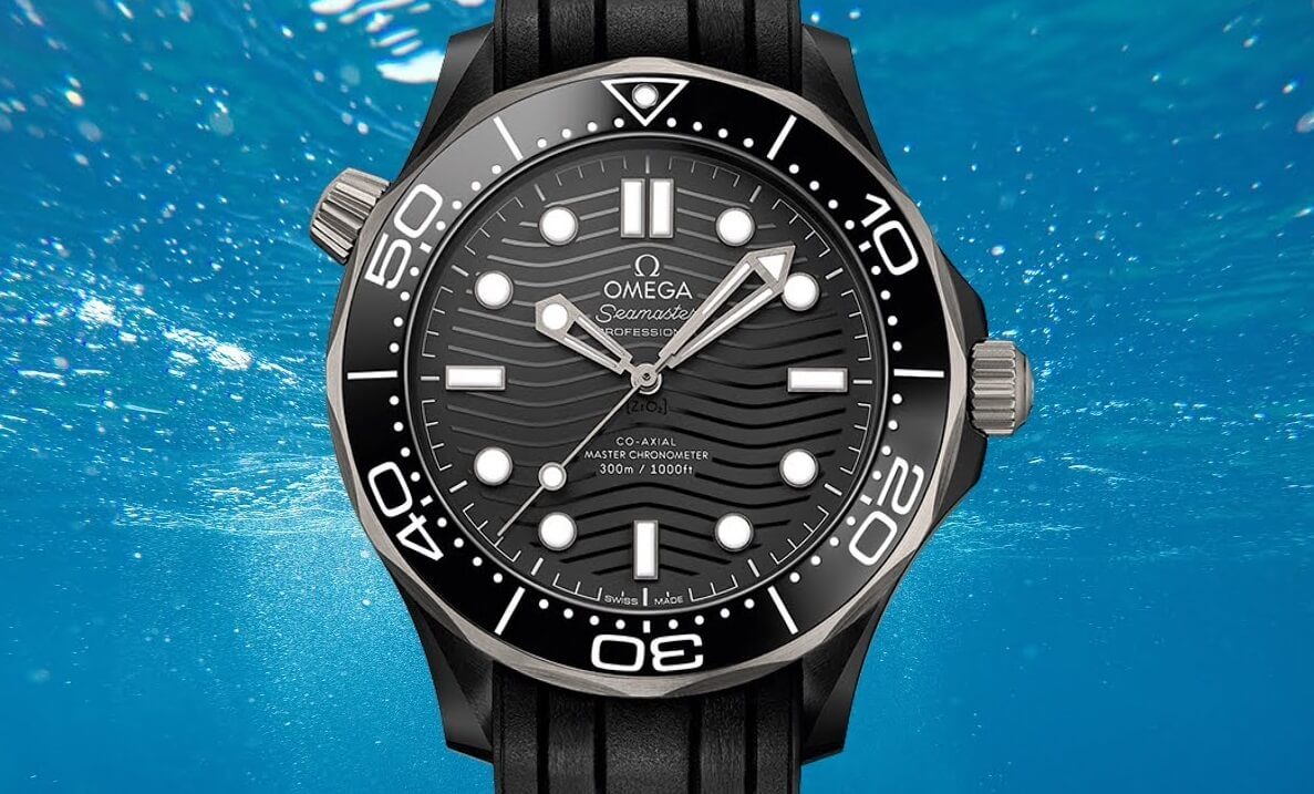 Omega Seamaster Diver 300M Ceramic And Titanium Fake Watches Review