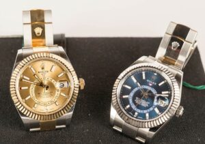 2 AAA Rolex Sky-Dweller two-tone watches in 2017