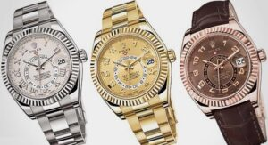 3 AAA Rolex Sky-Dweller watches in 2012