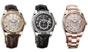 3 AAA Rolex Sky-Dweller watches in 2014