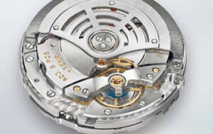 Caliber 9001 movement in AAA Sky-Dweller